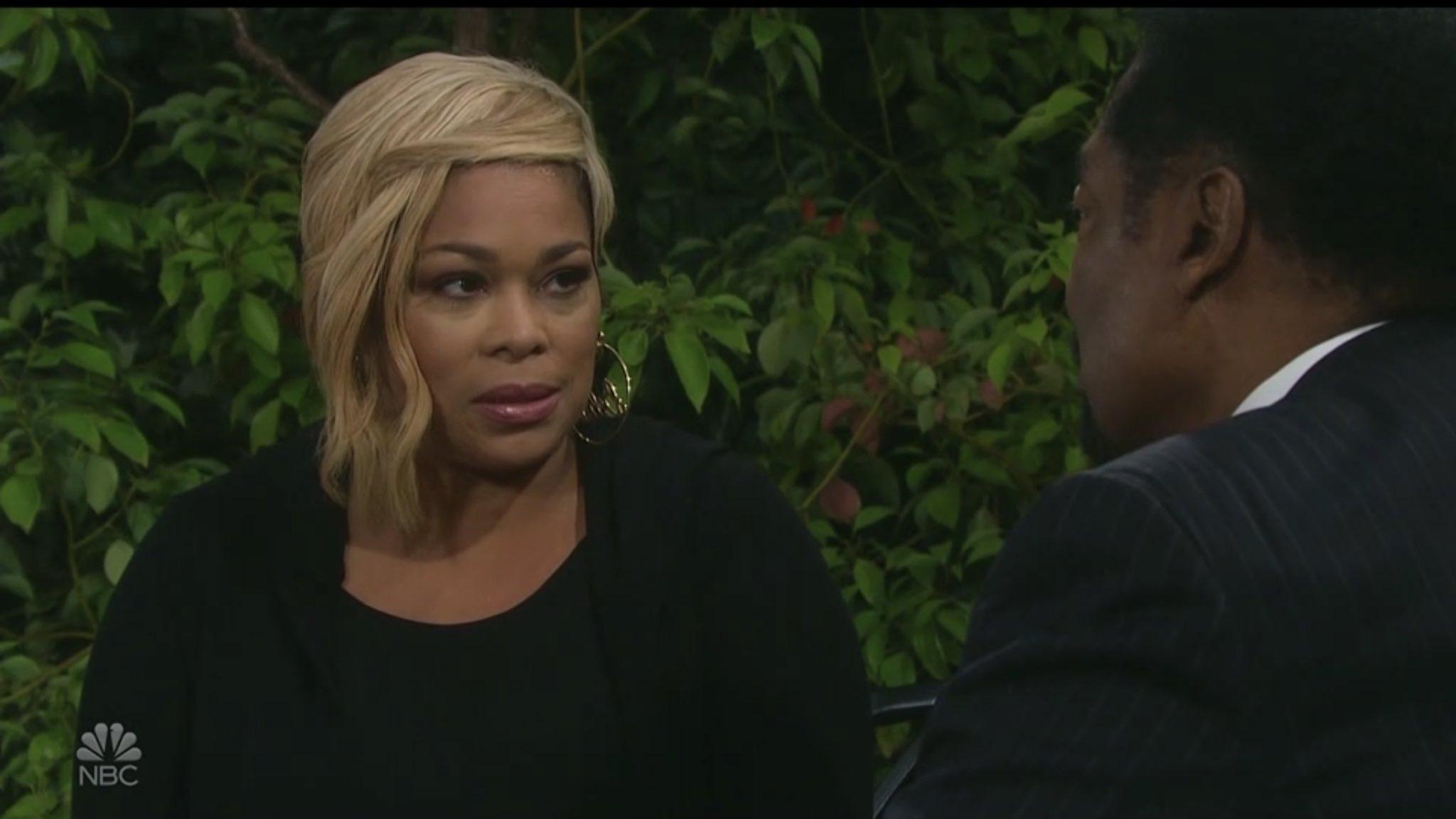 T-Boz as Sheila Watkins Quits Job After Kissing Mayor Carver