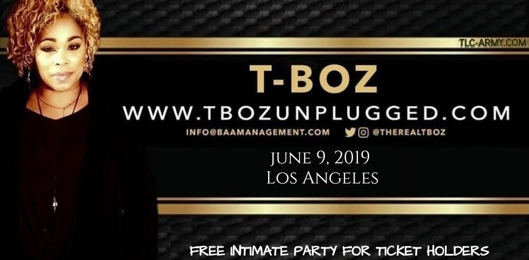 T-Boz To Host Intimate Party In LA Following Canceled Unplugged Show