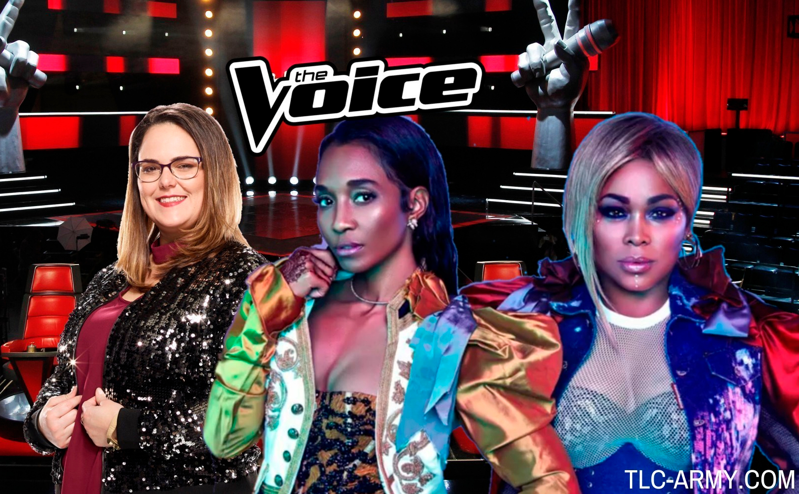 'The Voice' Contestant Kim Cherry Receives A Surprise From TLC