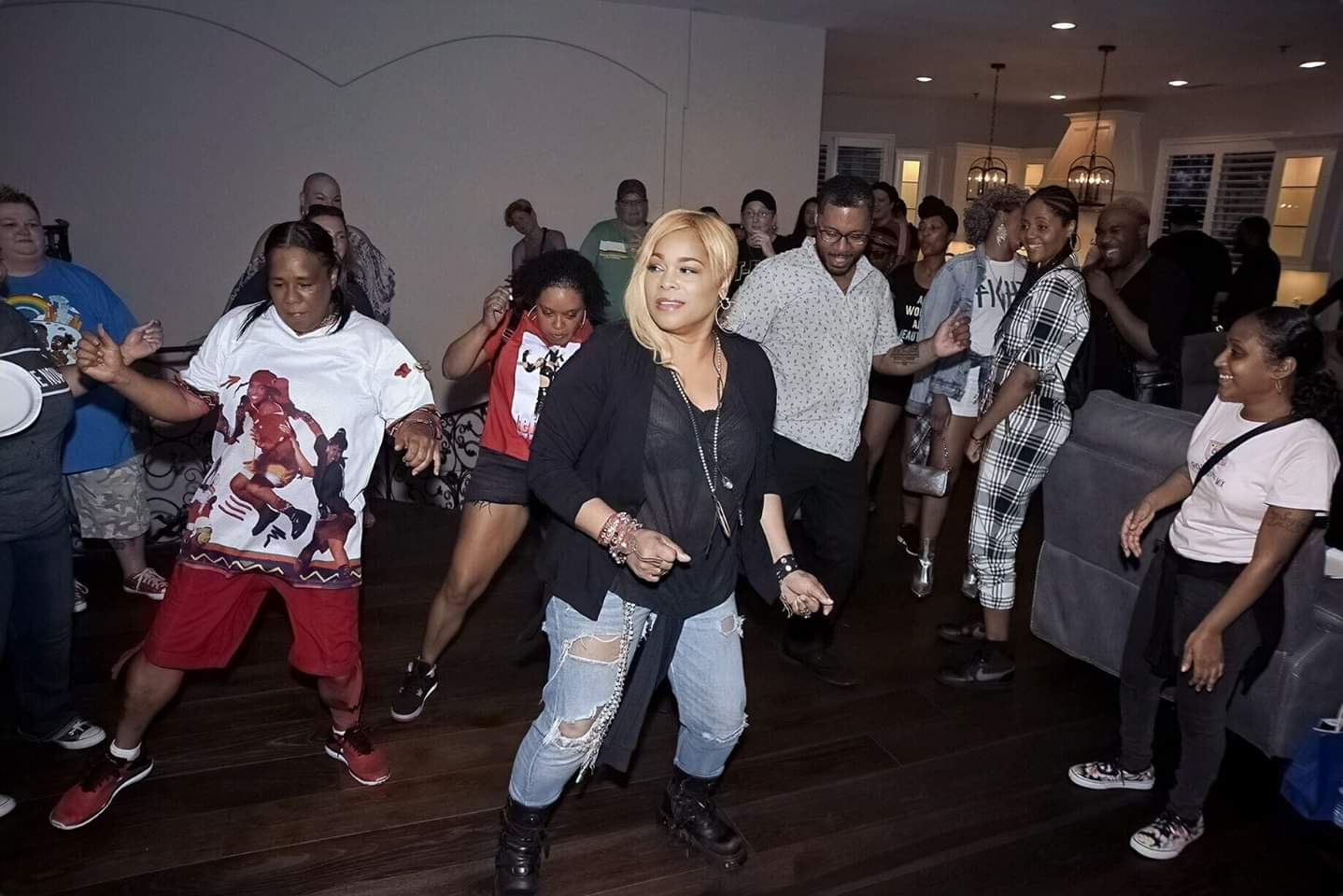 T-Boz Gives Fans Some TLC With A House Party In LA