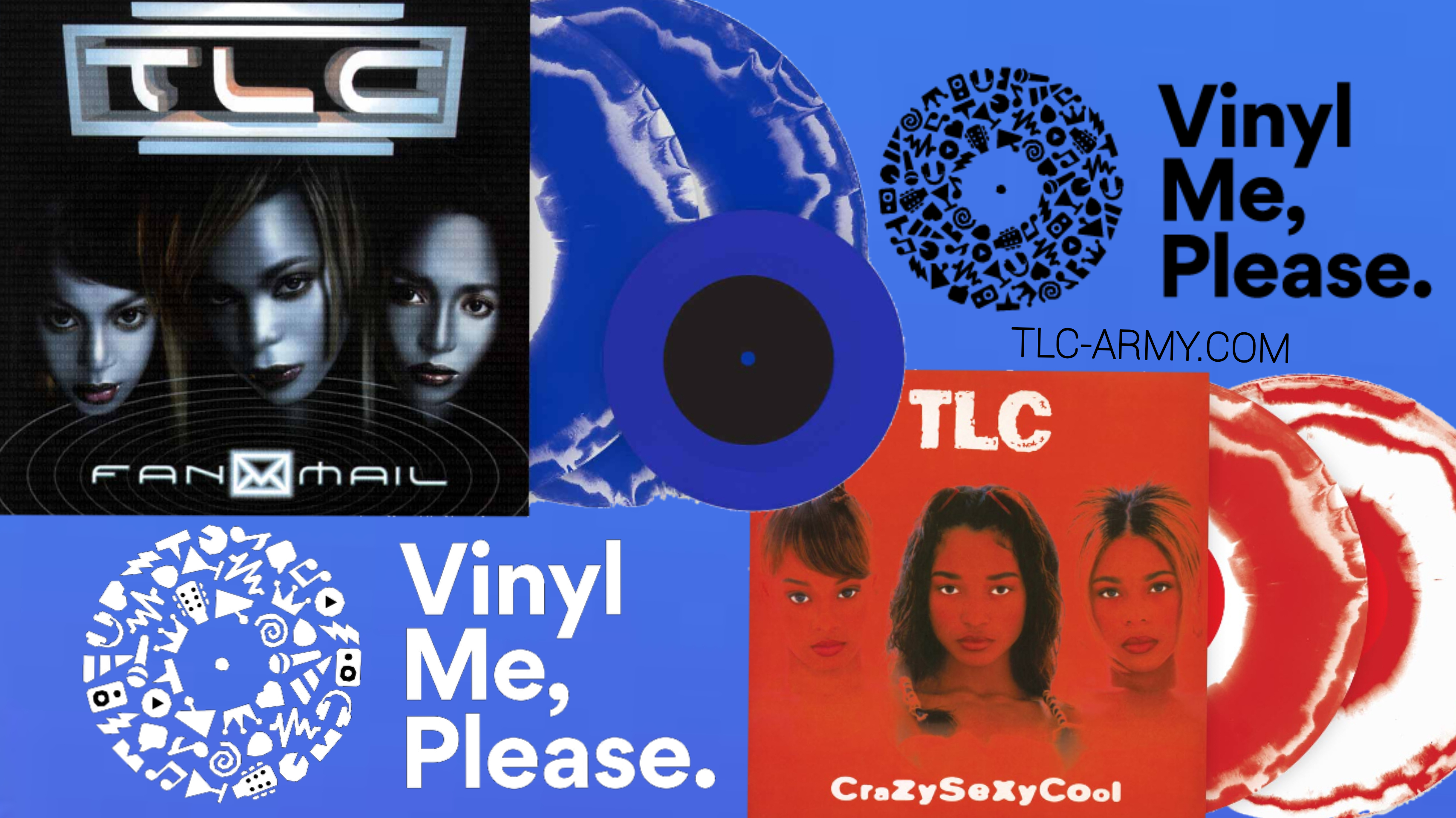 TLC Limited Edition Albums Released Exclusively on Vinyl Me, Please
