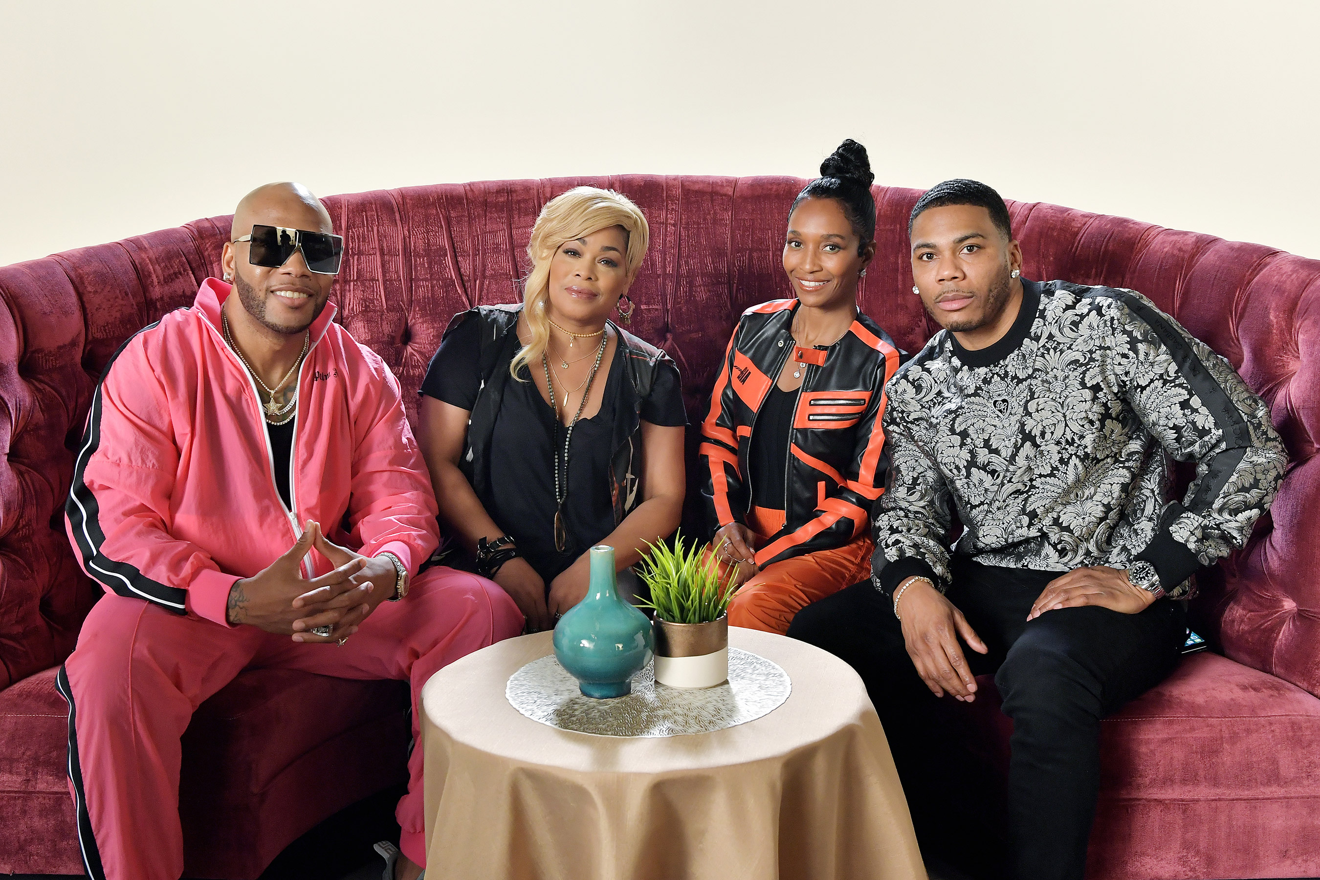 Hitmakers TLC, Nelly & Flo Rida Reflect On Their Favorite Hits Before Tour