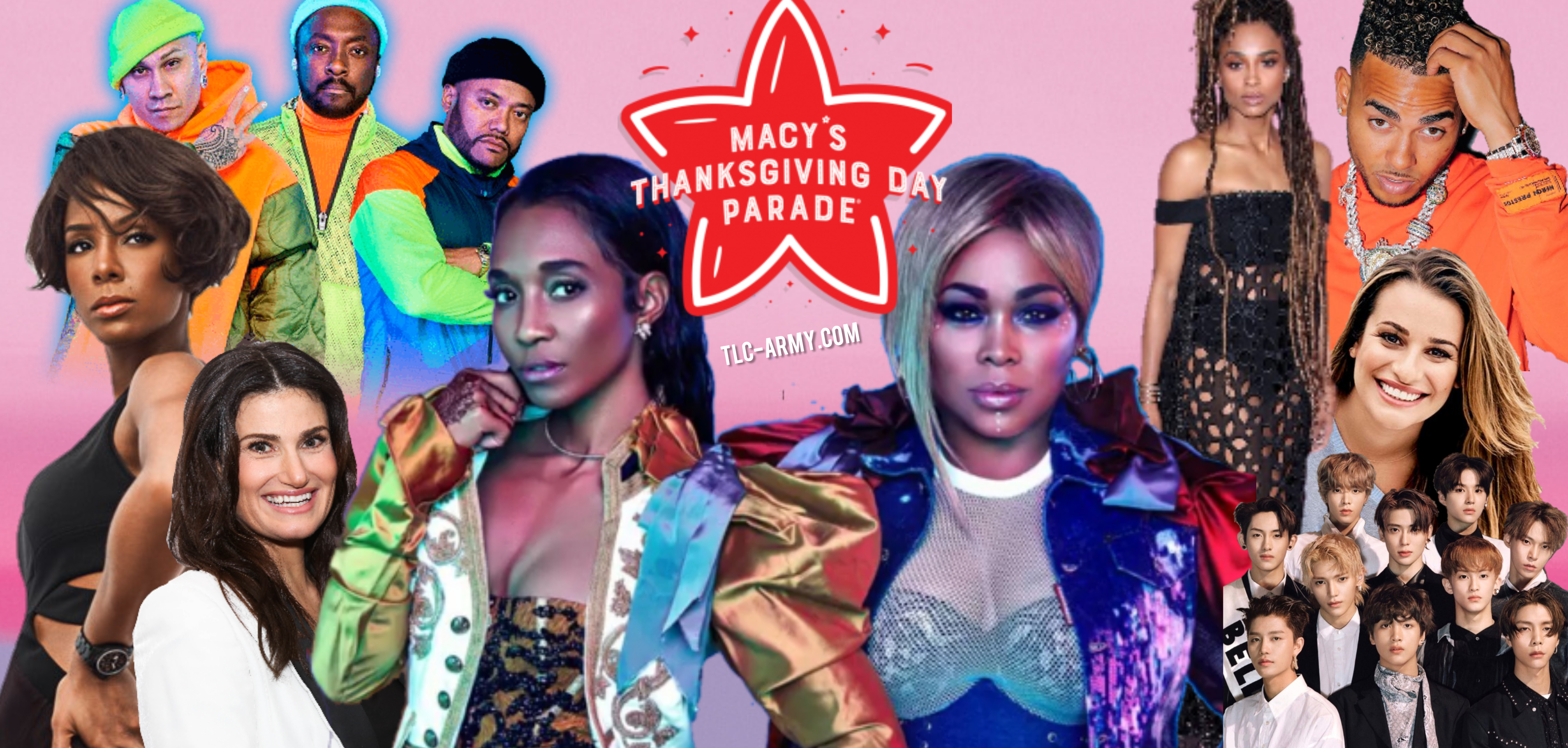 TLC To Headline Macy's Thanksgiving Day Parade 2019