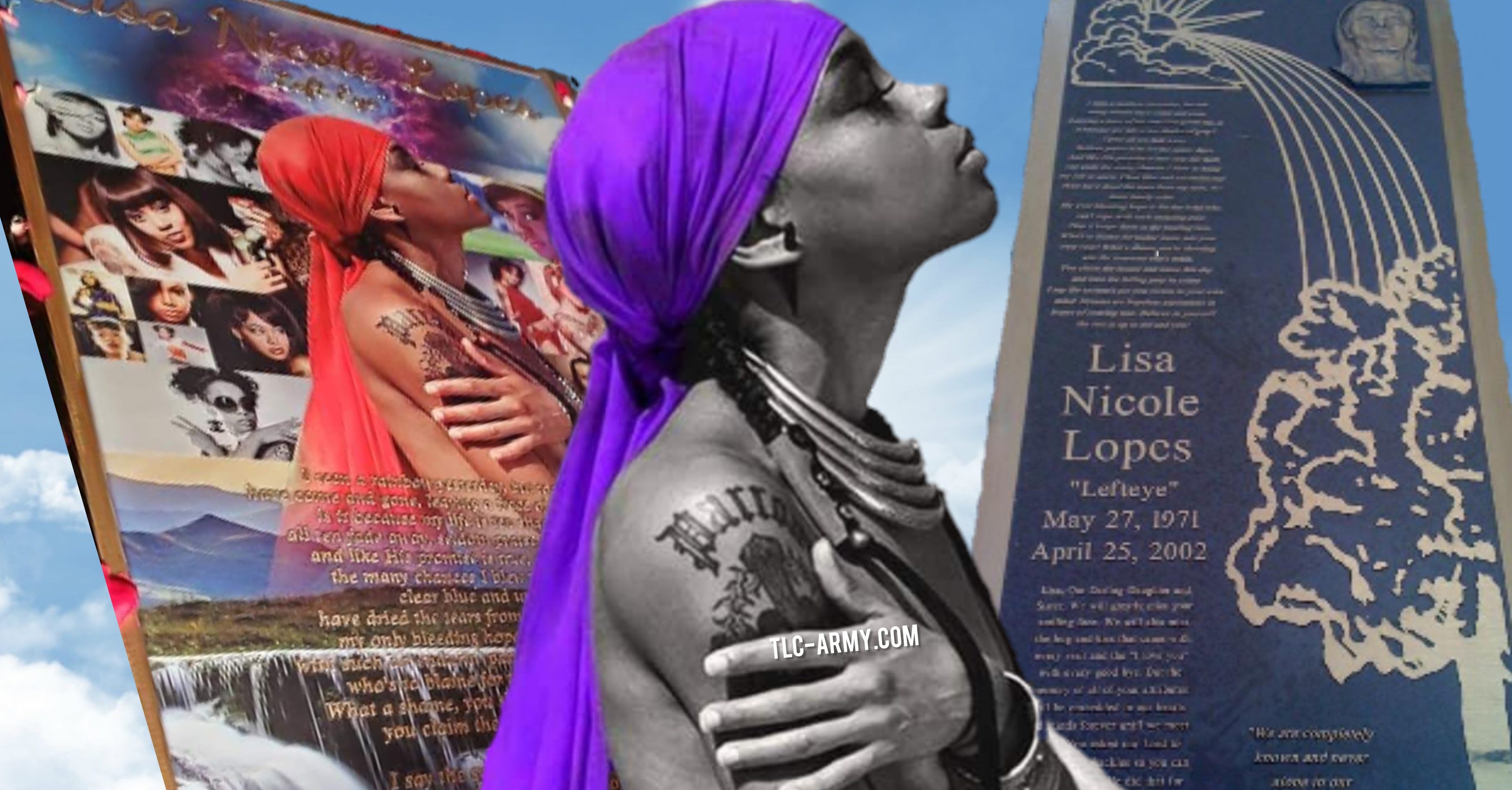 """Family of Lisa """"Left Eye"""" Lopes Reveal One-of-a-Kind Modern Headstone"""