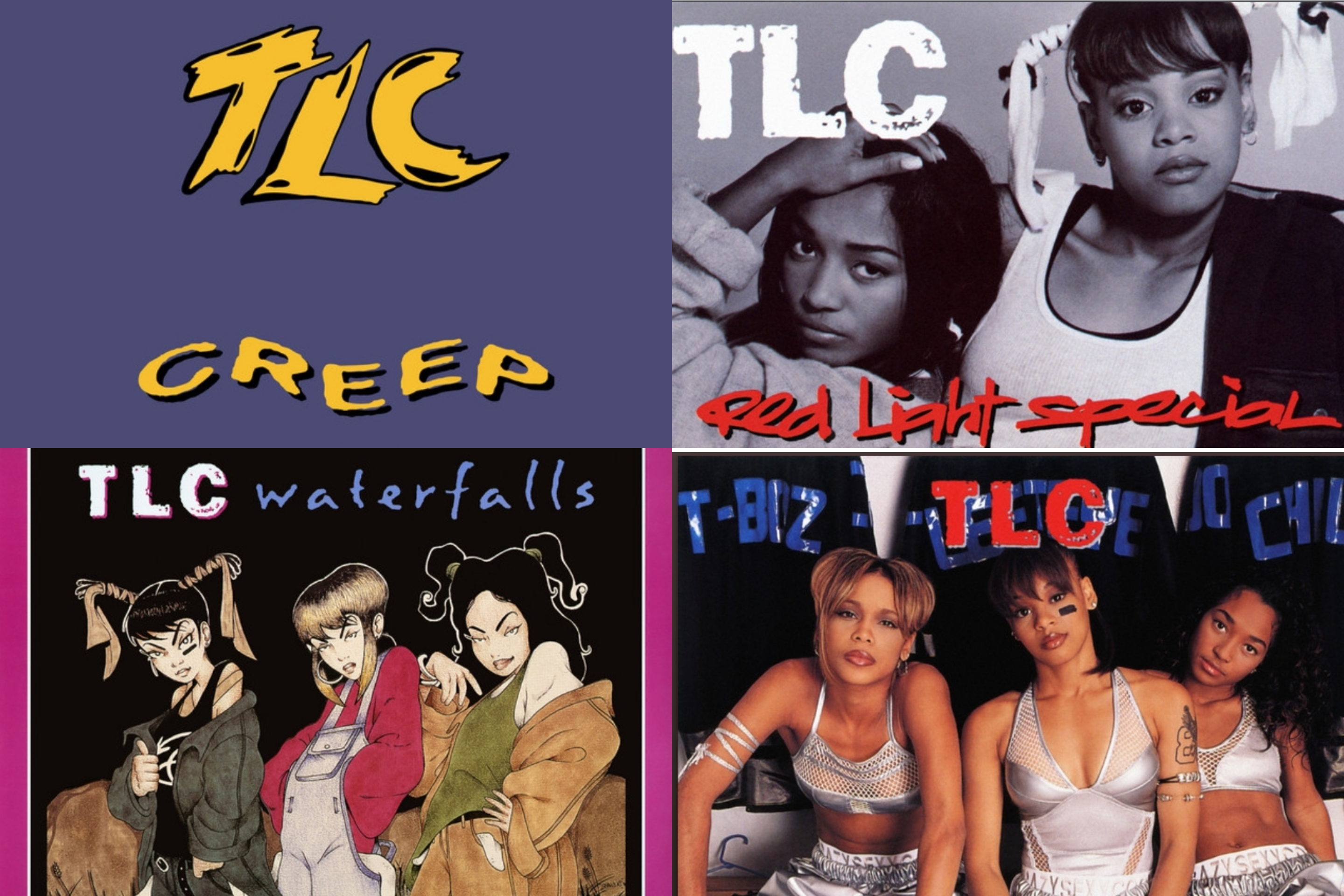 Sony Release Classic TLC EP's On 25th Anniversary of 'CrazySexyCool'