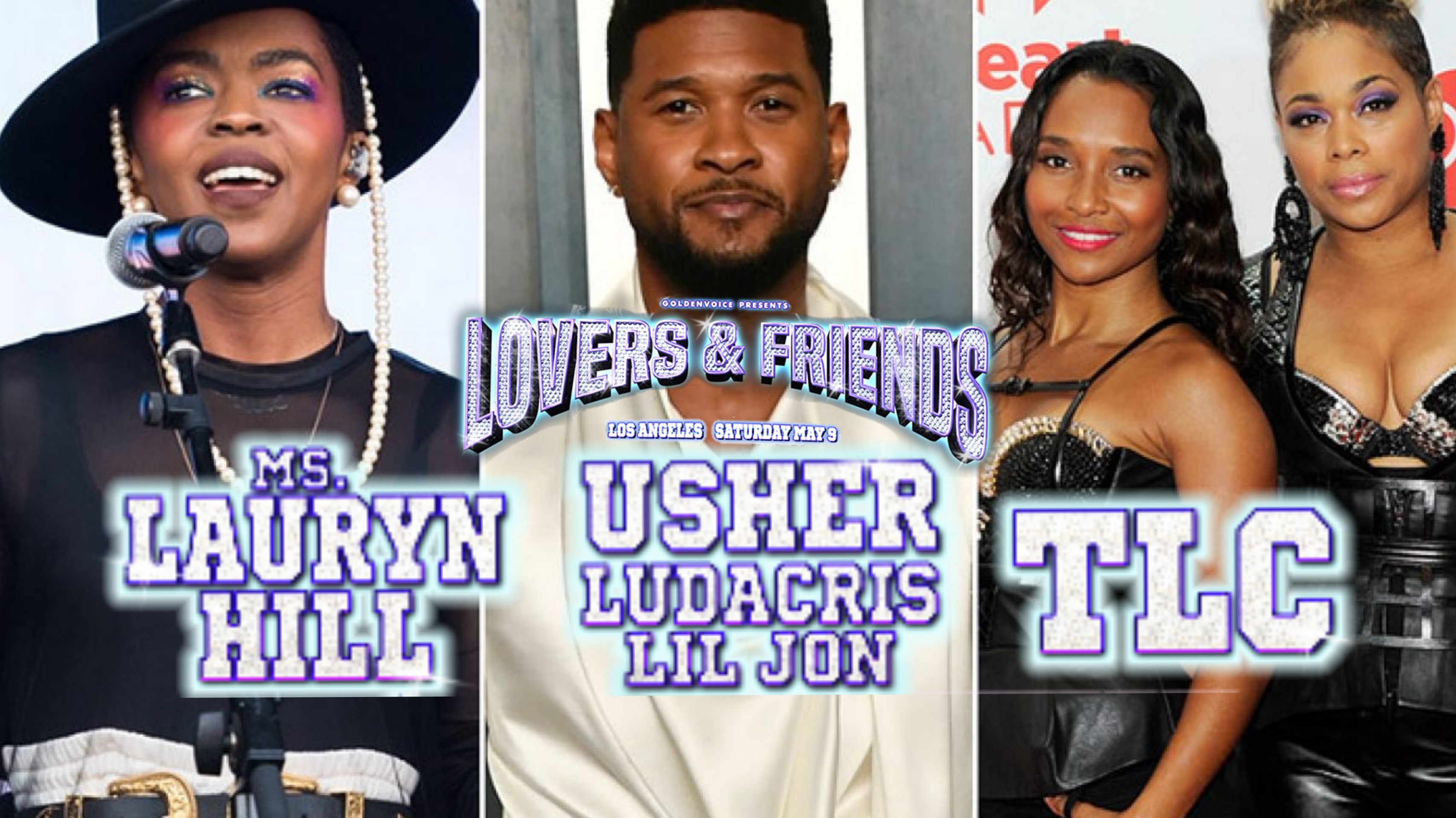 TLC to Headline Snoop Dogg's 'Lovers & Friends Festival' with Usher & Lauryn Hill