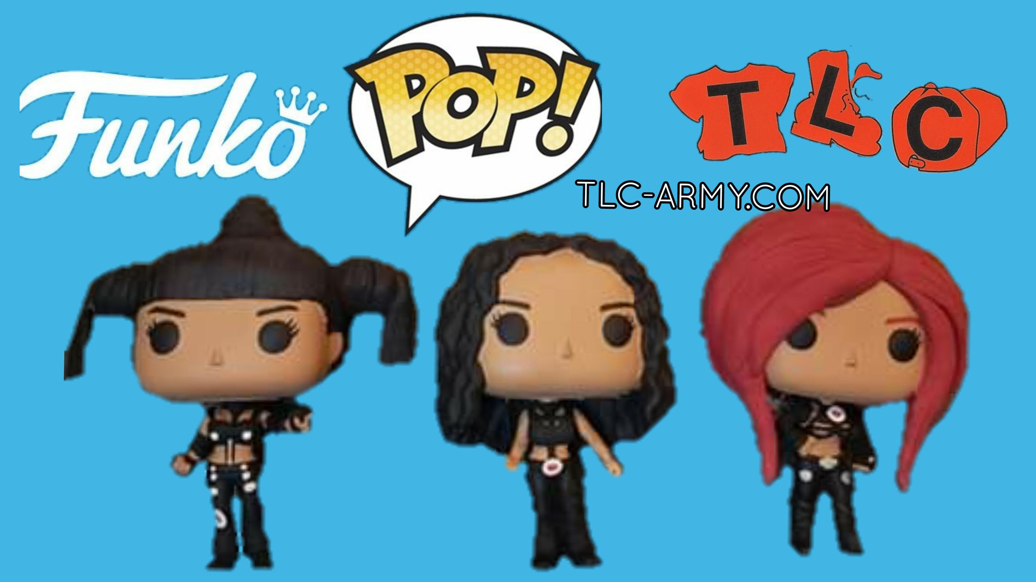 Funko To Release TLC Pop! Rocks Vinyl Figures