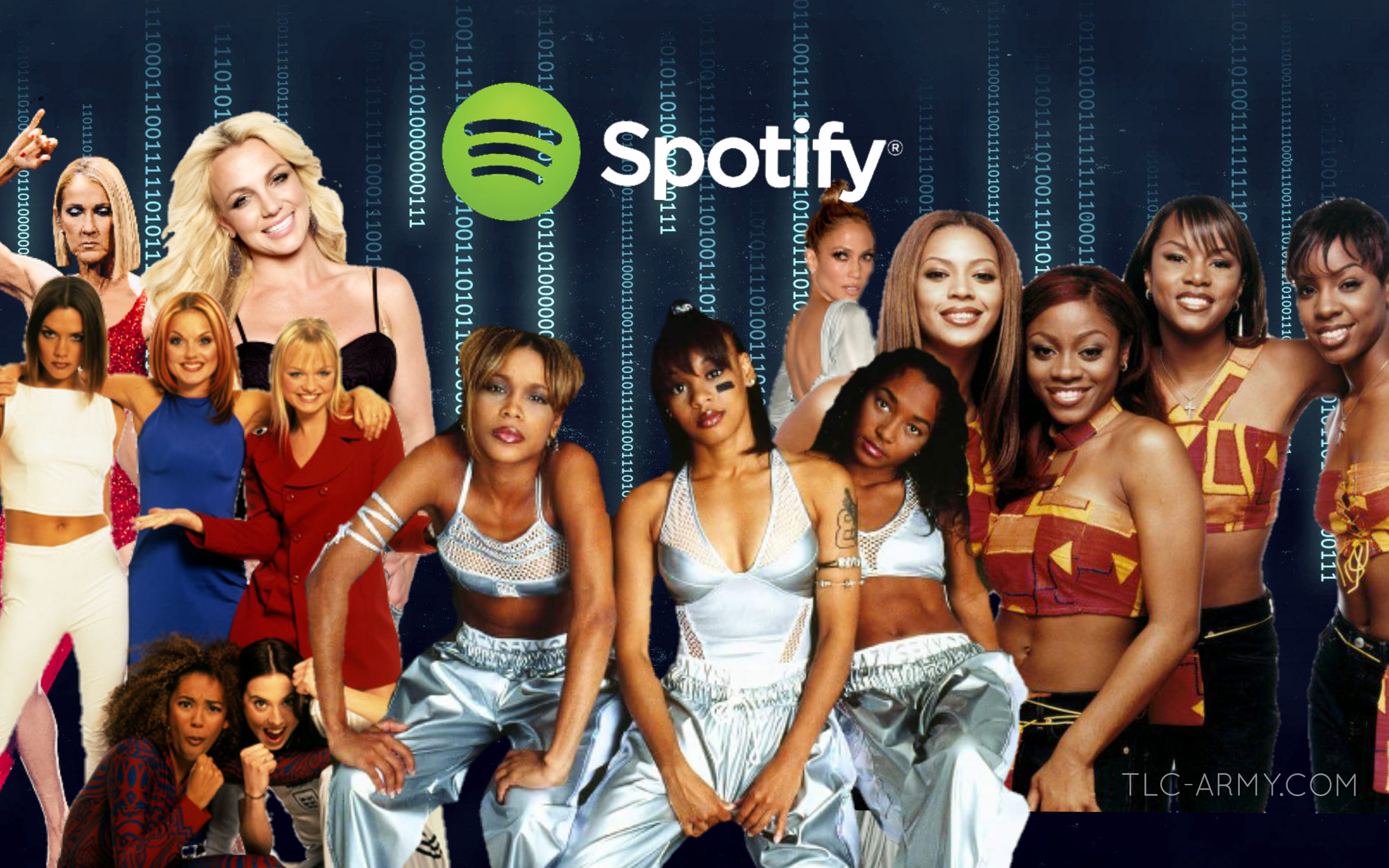 """TLC's """"No Scrubs"""" Reaches Top 10 Most Played 90's Female Song in 2020"""