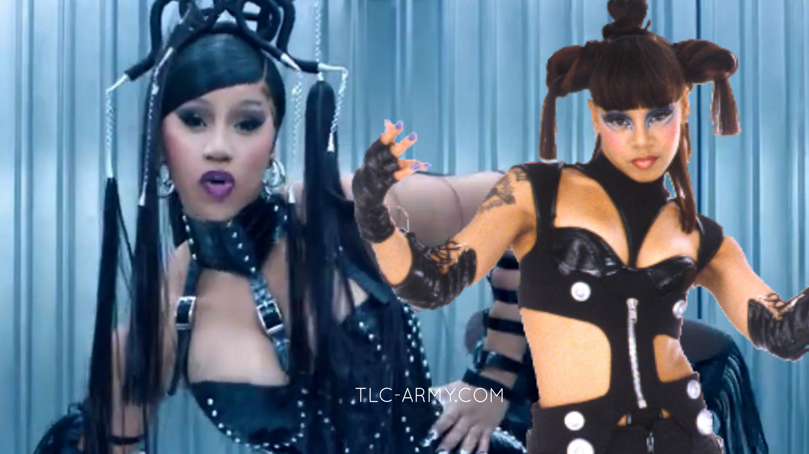 """Cardi B Gives Us Left Eye Vibes In Her New Music Video """"Up"""""""