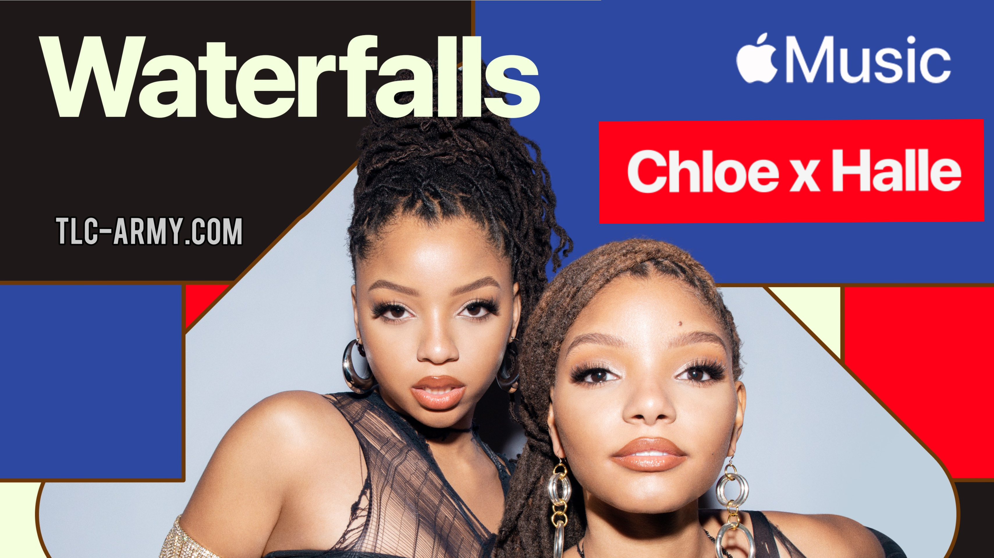 """Chloe x Halle Cover TLC's Classic """"Waterfalls"""" Exclusively for Apple Music"""