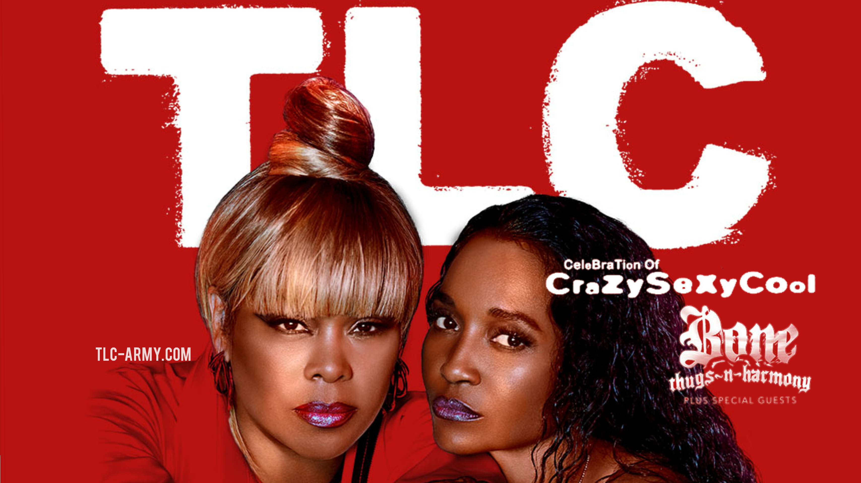 TLC Announce 'Celebration of CrazySexyCool' 2021 Tour With Bone Thugs-N-Harmony