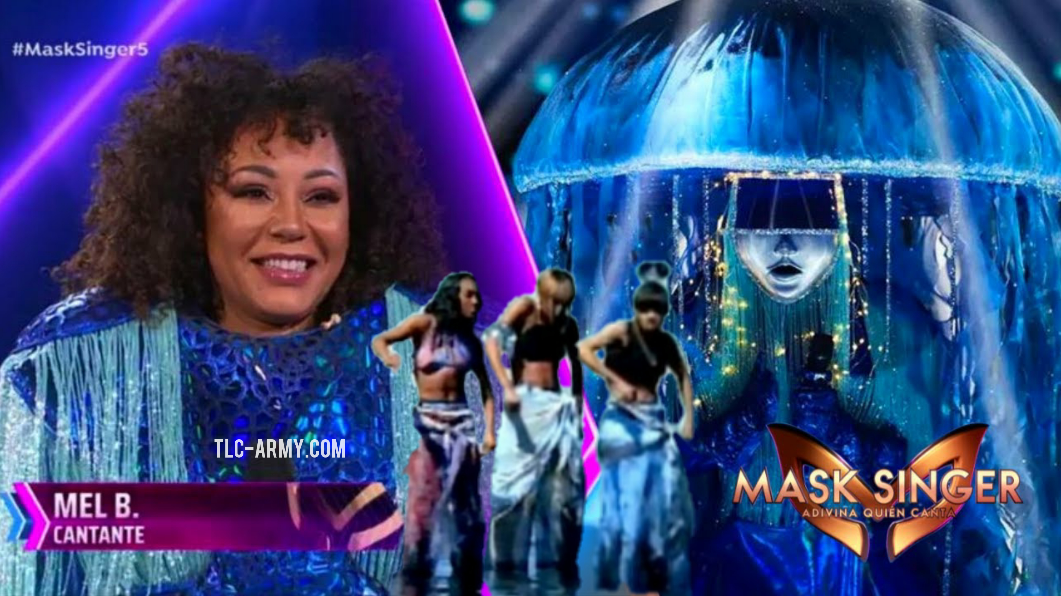 """Spice Girls' Mel B Takes On TLC Classic """"Waterfalls"""" For Spain's 'Masked Singer'"""