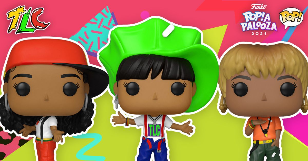 Funko Release Second Line Of TLC Pop Vinyls From Their 1992 Debut Album